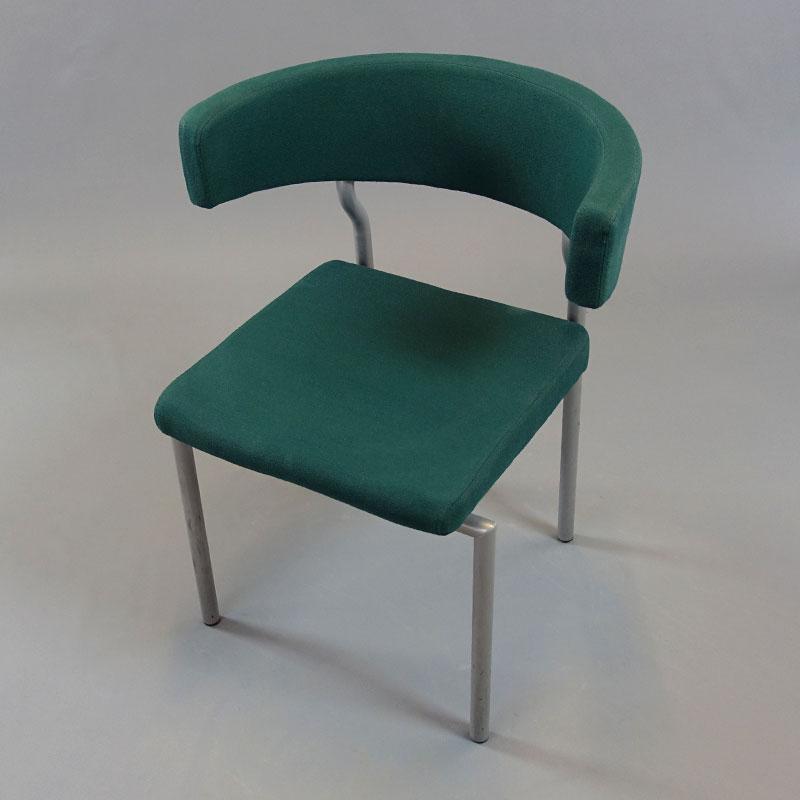 Gröna konferensstolar från Lammhults BBS Möbler