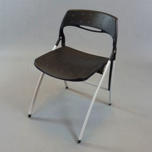 Svart stol - svarta fällstolar