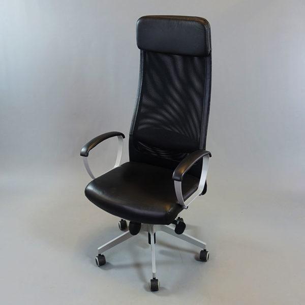 Kontorsstolen Markus i svart