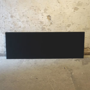 Svarta bordsskärmar 180 cm