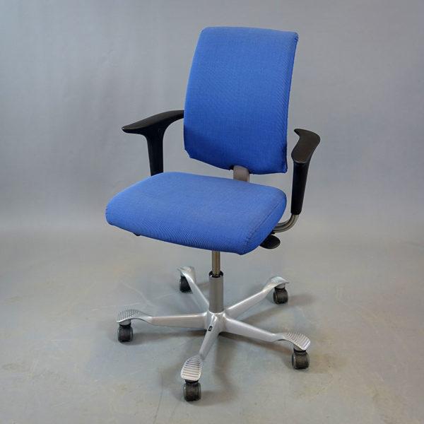Blåa kontorsstolar HÅG