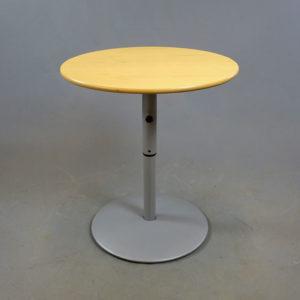 Begagnade cafébord med roterbar skiva