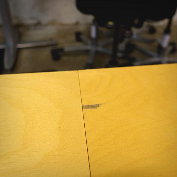 Begagnat konferensbord björk