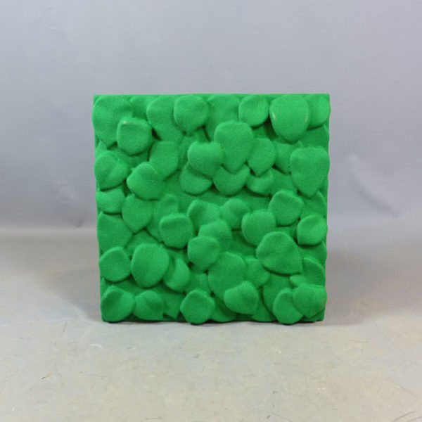 mörkgröna ljudabsorbenter johanson design