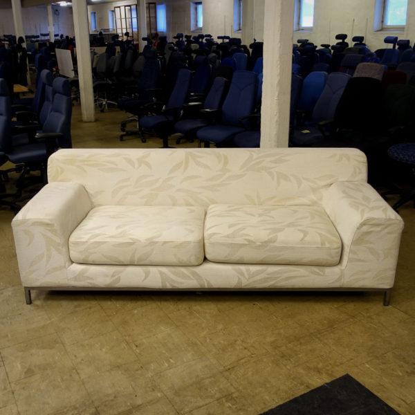 Begagnad vit soffa Ikea
