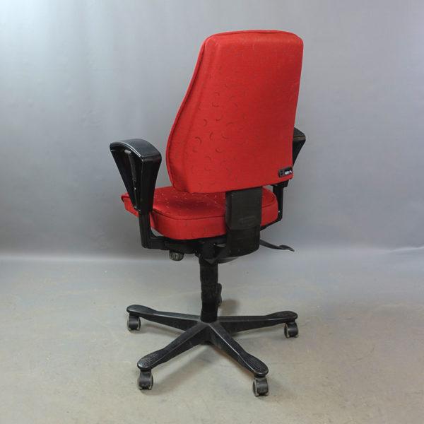 Röda kontorsstolar Kinnarps 6000