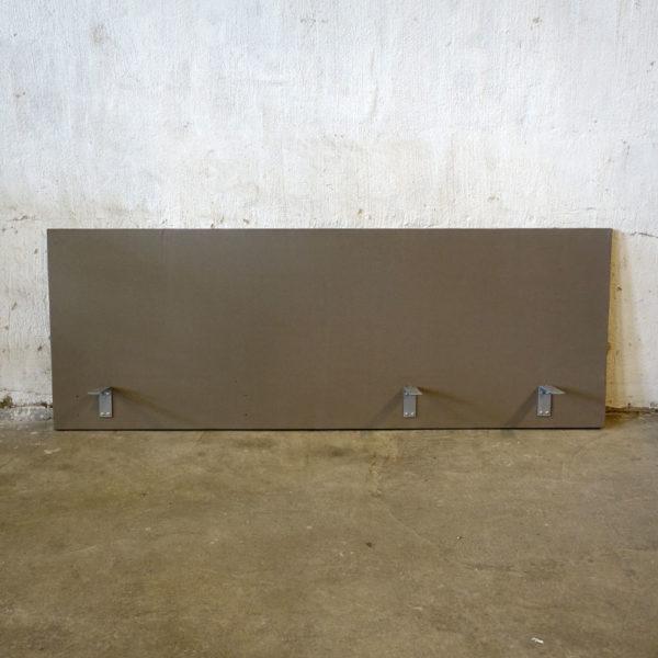 Bruna bordsskärmar 180 cm