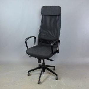 Begagnad kontorsstol Markus grå