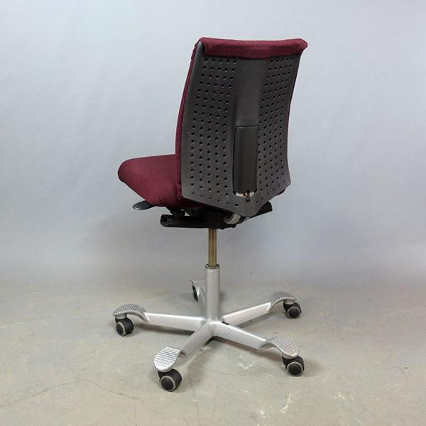 Vinröda kontorsstolar HÅG H05