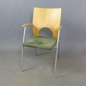 Begagnade stolar Kinnarps Yin grön