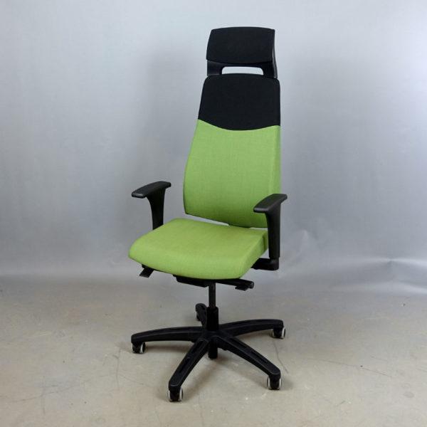 Begagnade kontorsstolar Volmar i grönt från Ikea