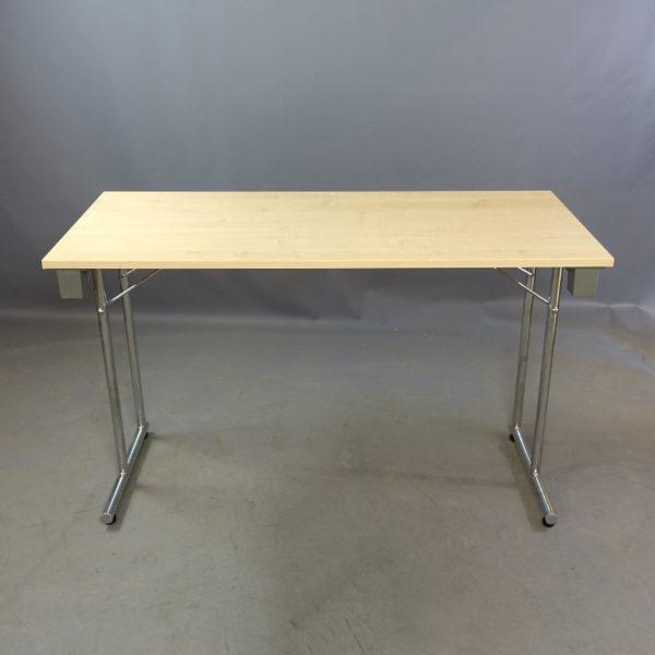 Begagnade fällbara skrivbord björk