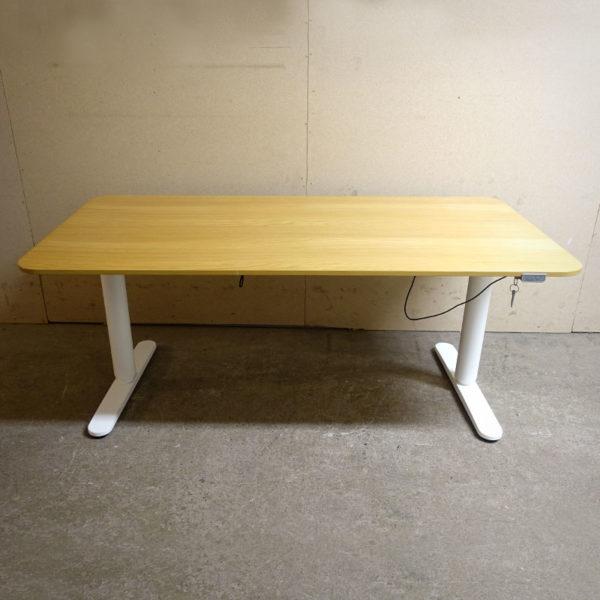 Begagnade eldrivna skrivbord IKEA Bekant