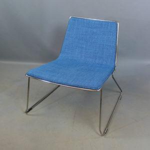 Begagnade ljusblåa sittmöbler Johanson Design