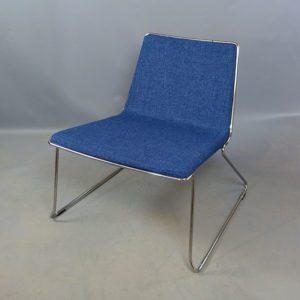 Begagnade mörkblåa sittmöbler Johanson Design