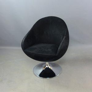Begagnade svarta fåtöljer Johanson Design