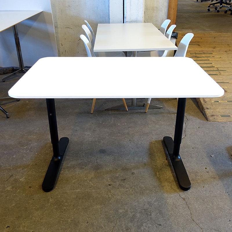 Begagnade skrivbord Bekant 120x80 cm