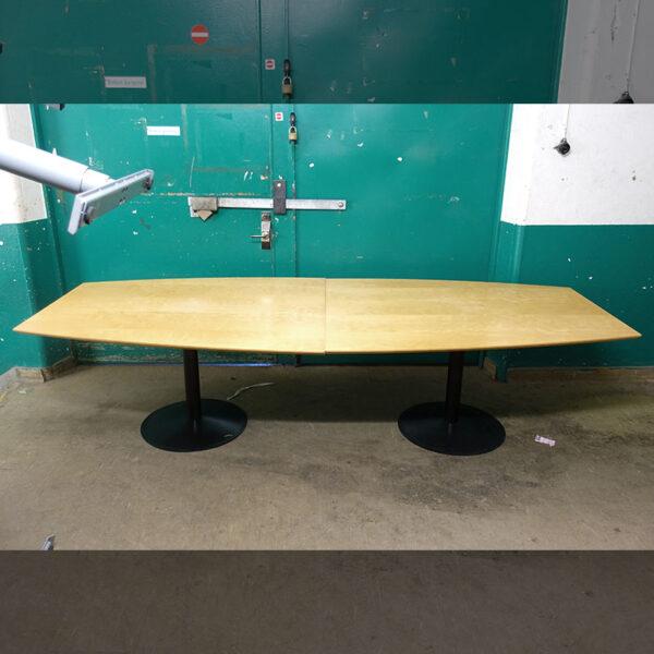 Begagnade konferensbord björk 290x120 cm
