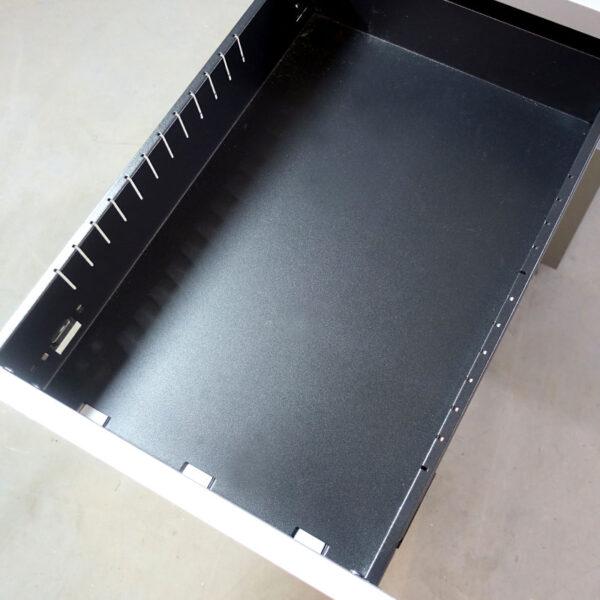Begagnade rullhurtsar Steelcase med nyckel