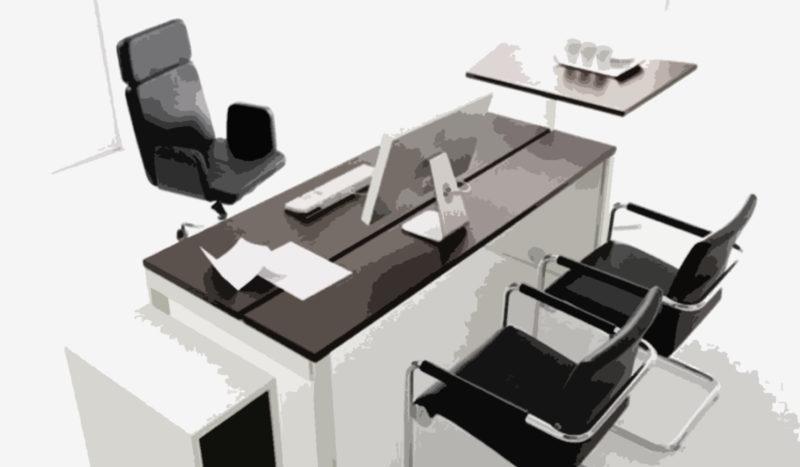 kontorsmöbler som fungerar i längden