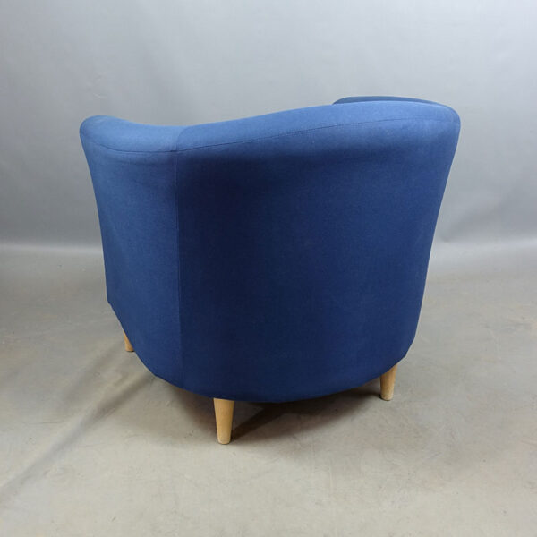 Blåa begagnade fåtöljer IKEA