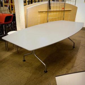 Båtformat konferensbord Skandiform 240 cm