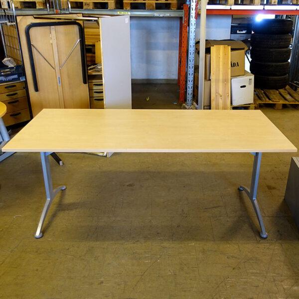 Begagnade skrivbord Kinnarps Asto 180x80 cm