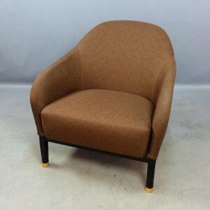 Fåtöljer Johanson Design Edith - brunt tyg