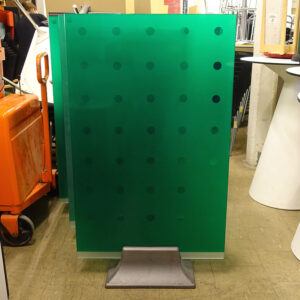 Begagnade golvskärmar grönt glas