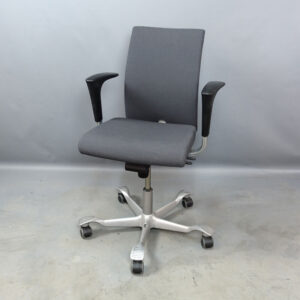 Begagnade kontorsstolar HÅG H04 med silverkryss