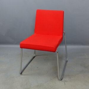 Begagnade röda stolar Offecct