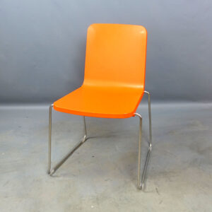 Stolar orange Skandiform Pompidoo