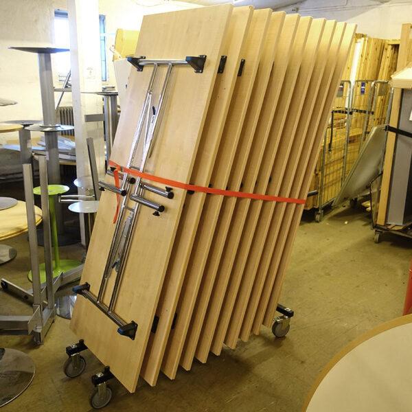 Begagnade fällbord 180x70 cm - Begagnade vagnar för fällbord