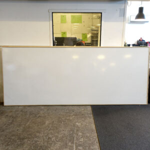 Begagnade whiteboards 300 cm