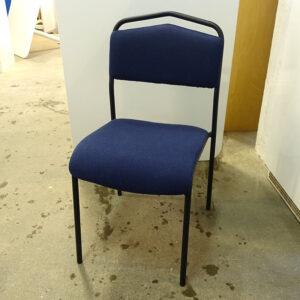 Begagnade konferensstolar Särna - mörkblå
