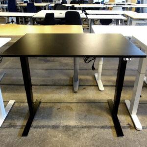 Begagnade svarta elbord Swedstyle 120x80 cm
