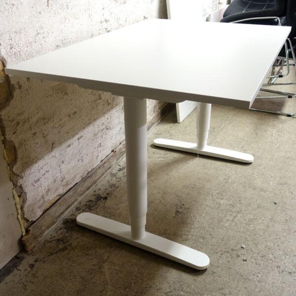 Begagnade eldrivna skrivbord Bekant 120x80 cm