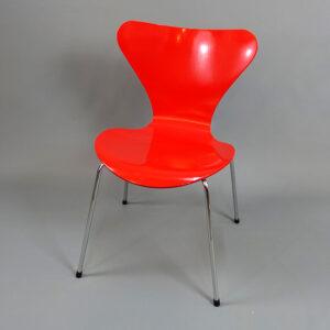 Begagnade röda stolar Fritz Hansen - paket