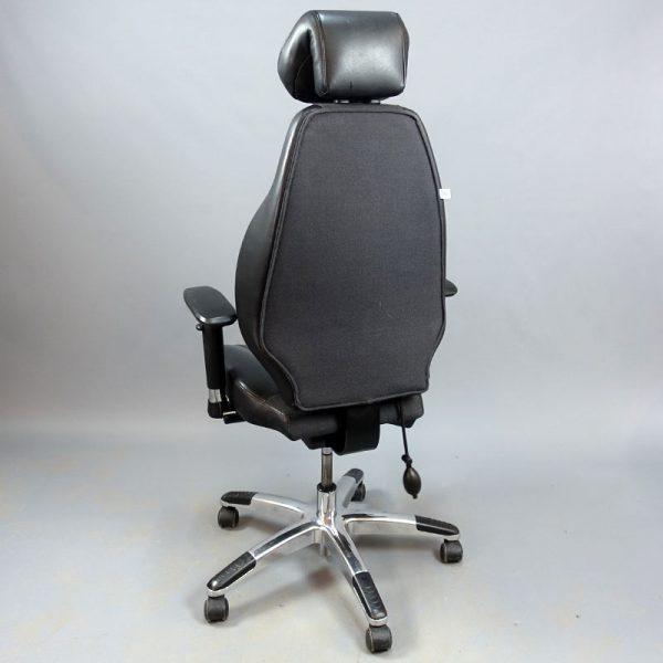 Begagnad kontorsstol Viva 2000 - grått tyg