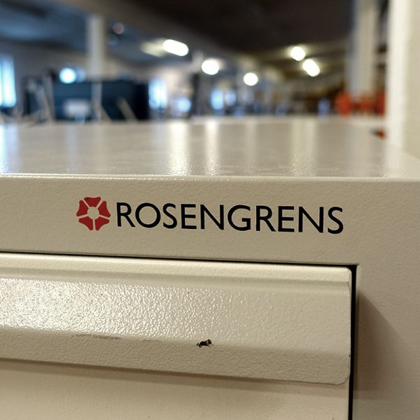 Begagnat brandsäkert arkivskåp Rosengrens