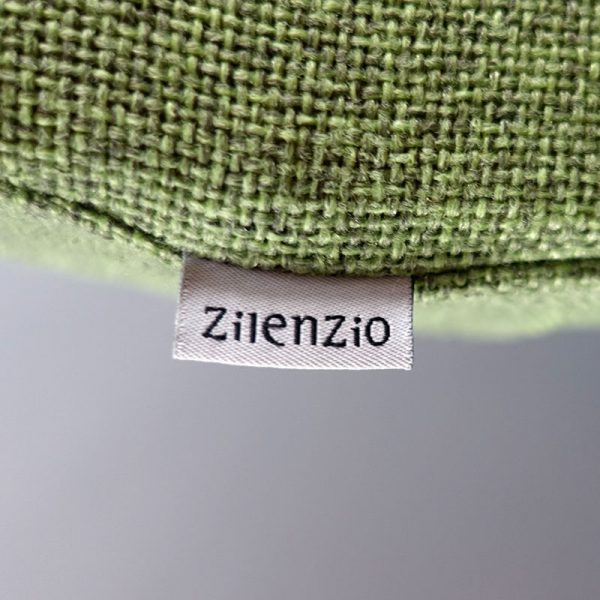 Begagnad grön golvskärm Zilenzio Dezibel