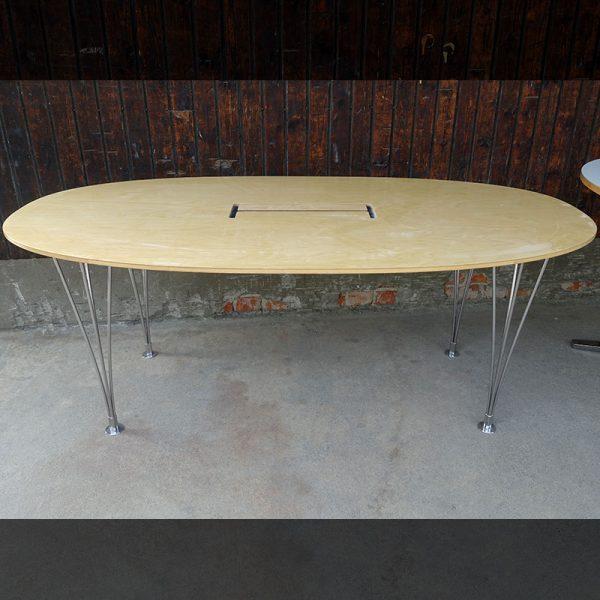 Begagnade konferensbord Bruno Mathsson 180x90 cm