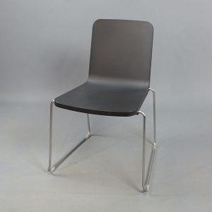 Mörkgråa stolar Skandiform Pompidoo