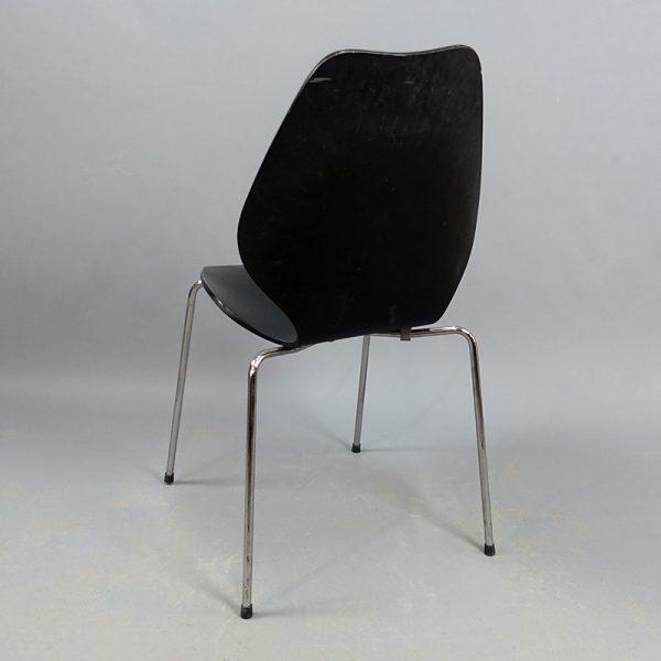Begagnade svarta stolar Fora Form
