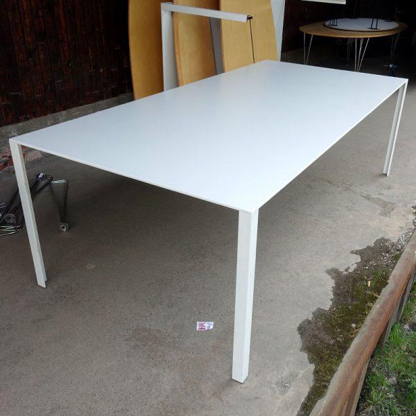 Begagnade vita konferensbord 230x110 cm