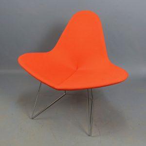 Begagnade fåtöljer Parri orange