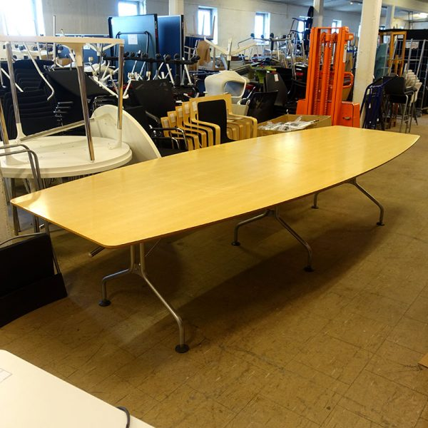 Begagnade konferensbord Skandiform 330x120 cm