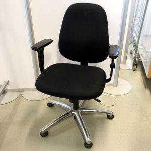 Begagnade kontorsstolar Officeline med hjul - Begagnade kontorsstolar Officeline utan hjul